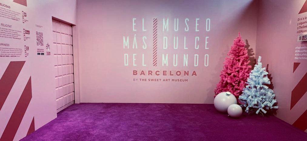 Barcelona Abrió The Sweet Art Museum, La Primera Experiencia Dulce E Inmersiva En España Que Estará Disponible Hasta El 10 De Enero