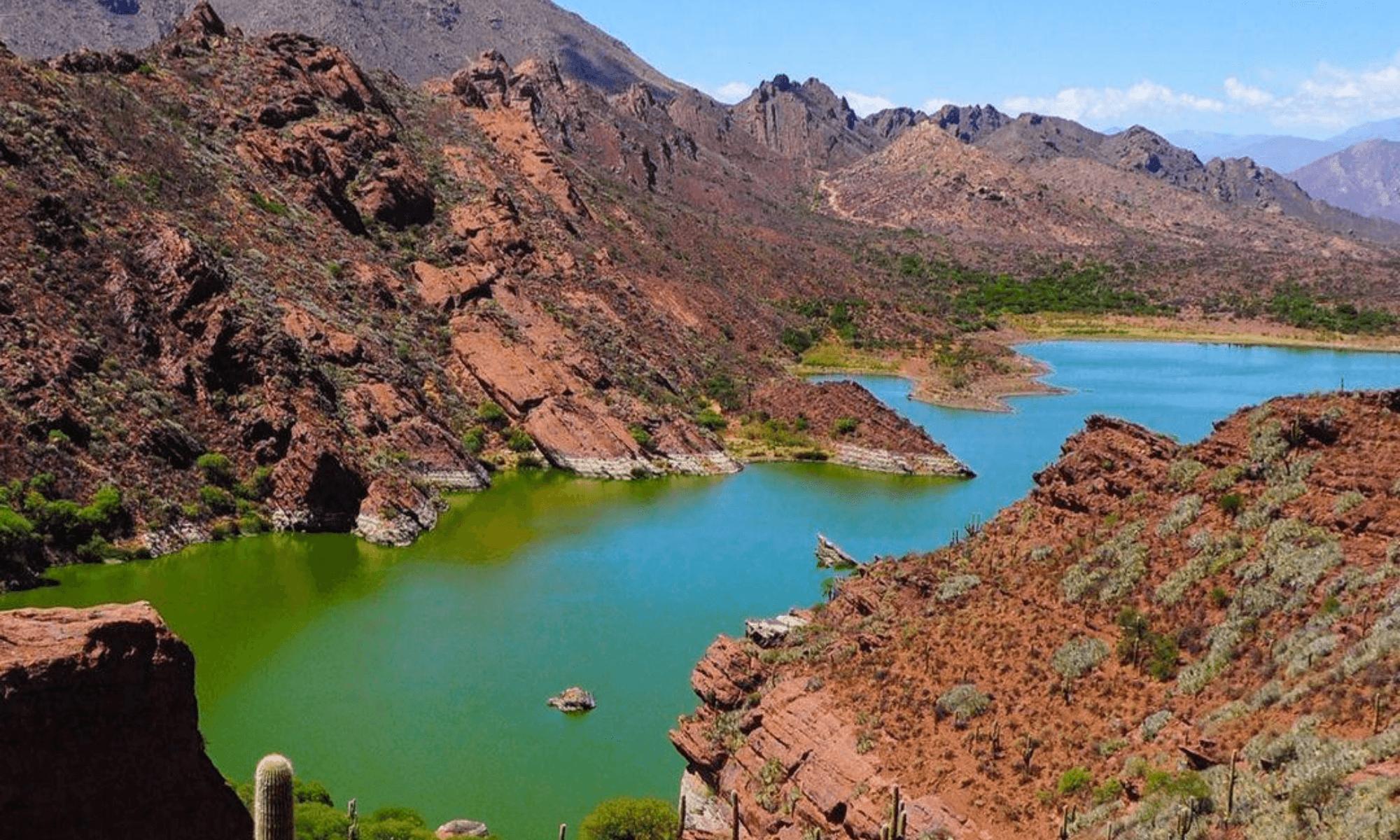 Cómo llegar a la laguna de Brealito, un paraíso natural de Salta situado a unos 20 kilómetros de la Ruta Nacional 40 1