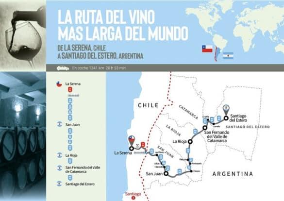 Argentina Y Chile Se Unen Para Formar &Quot;La Ruta Del Vino Más Larga Del Mundo&Quot;