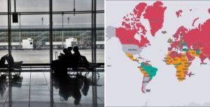 Skyscanner lanzó un mapa interactivo que muestra las restricciones de cada país al momento de viajar