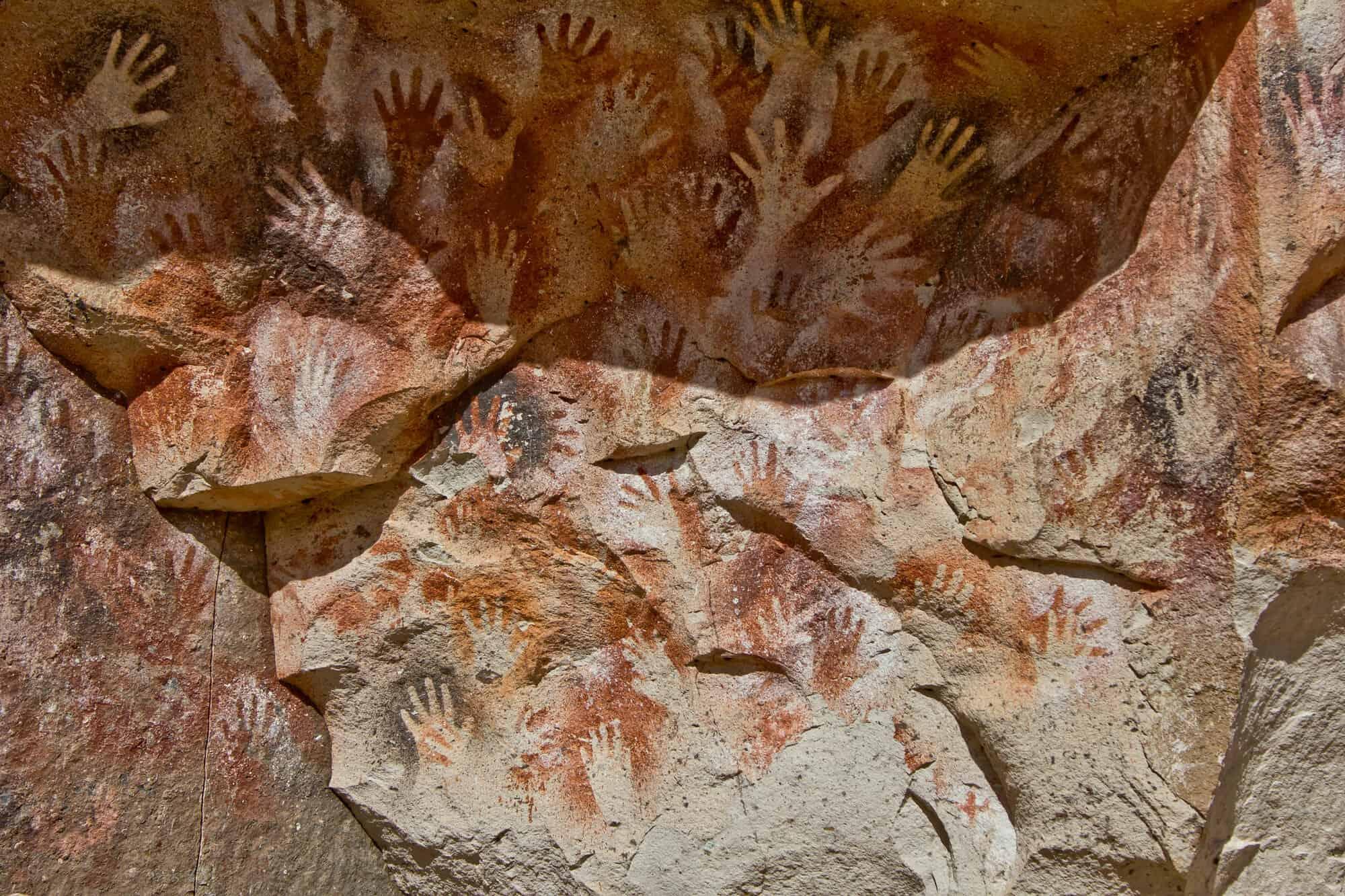 Cueva de las manos, Santa Cruz