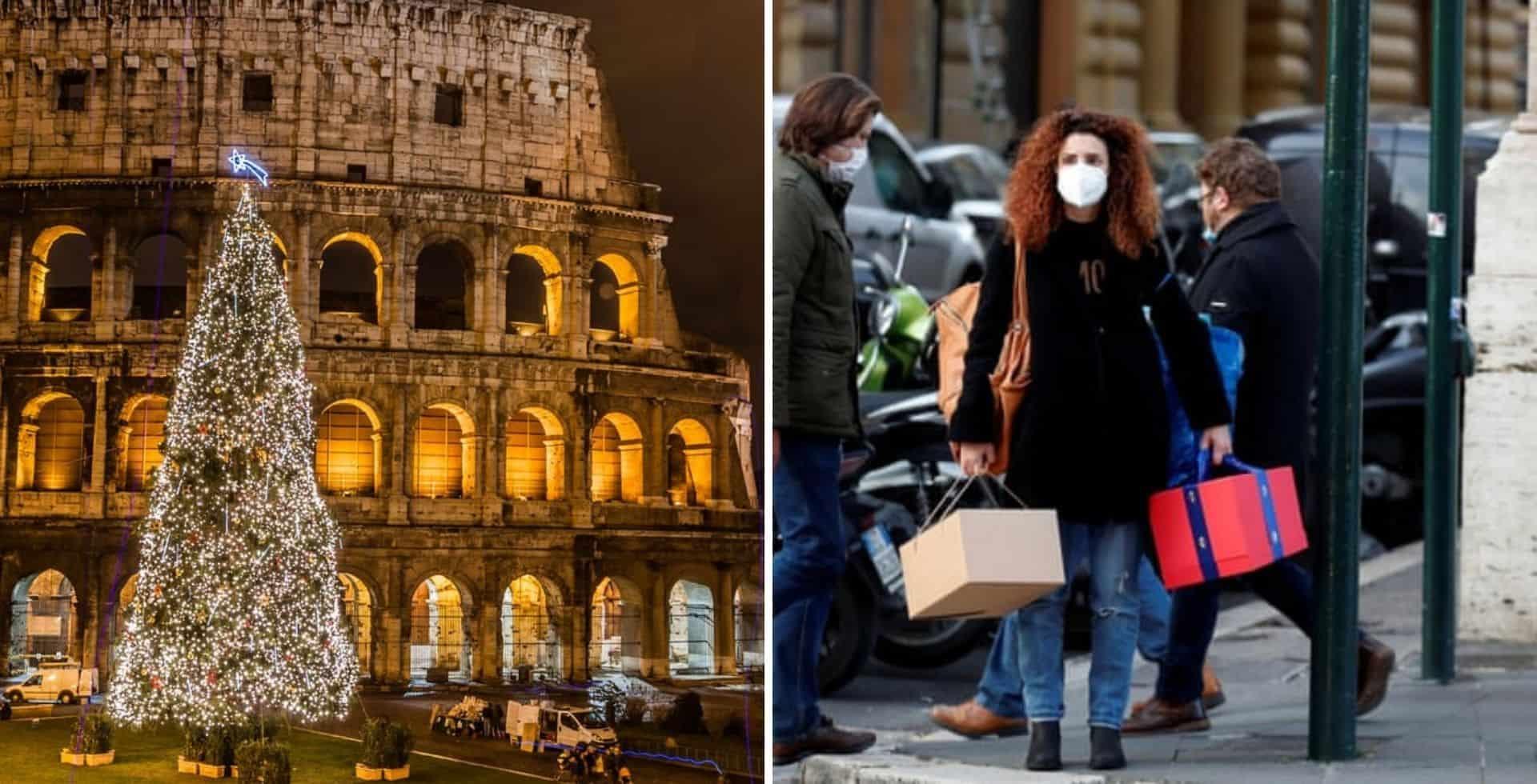 Italia aplica un nuevo confinamiento a tiempo para las fiestas para frenar la cantidad de contagios de COVID-19