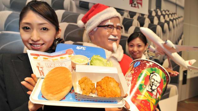El pollo frito de KFC se destaca como comida de tradición navideña en Japón y esta es la razón