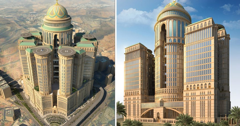 Abraj Kudai Abraj Kudai en imagenes este es el hotel mas grande del mundo que querras conocer ni bien puedas 1