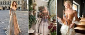 Esta diseñadora francesa crea vestidos inspirados en libros, arte, fantasía y arquitectura