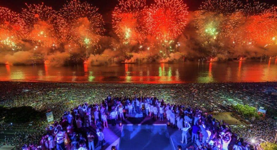 Rio de Janeiro no permitirá el ingreso a sus playas para las celebraciones de Año Nuevo en la noche del 31 de Diciembre