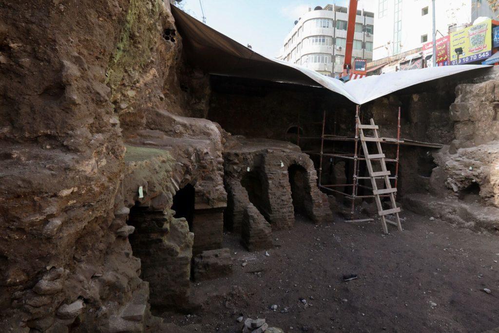 Descubren ruinas romanas en el centro de la capital de Jordania