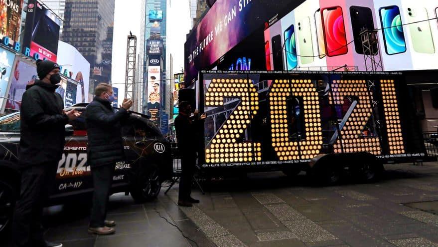 Histórico: La bola de Times Square recibirá el 2021 sin público por el coronavirus