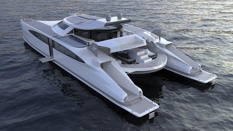 Diseñan Un Catamarán De 25 Metros De Largo Que Funciona Con Energía Sustentable