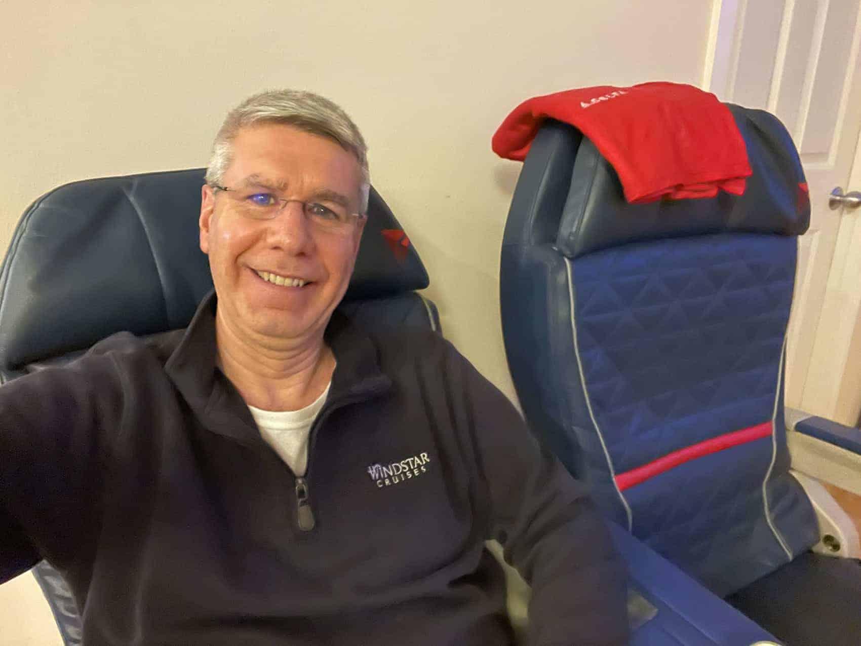 plane seats Delta