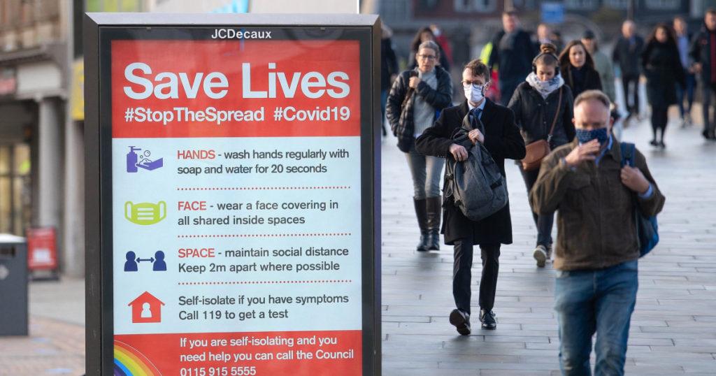 Inglaterra ingresa en un nuevo confinamiento nacional y es el más estricto desde Marzo 2020