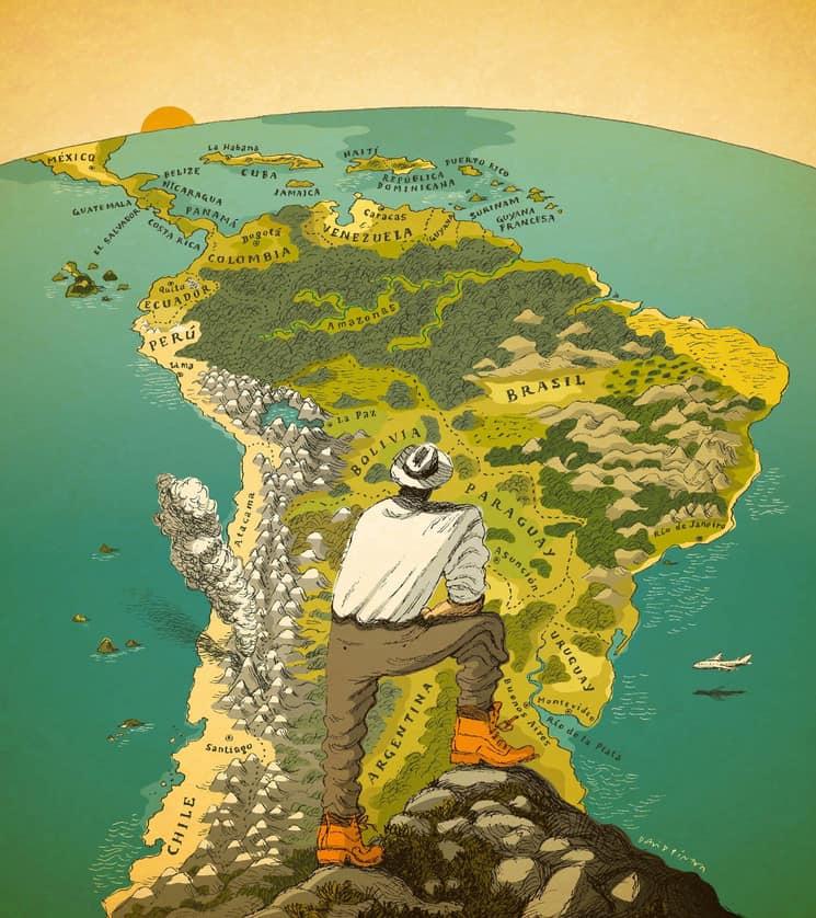 rincones del planeta Esta plataforma online dispone de bocetos pinturas ilustraciones carteles y mapas de diferentes rincones del planeta y es ideal para adquirir un retrato para tu hogar 4