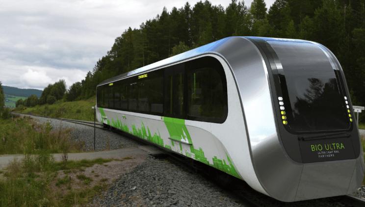 El nuevo tren sustentable del Reino Unido utilizará los deshechos de las personas para generar energía