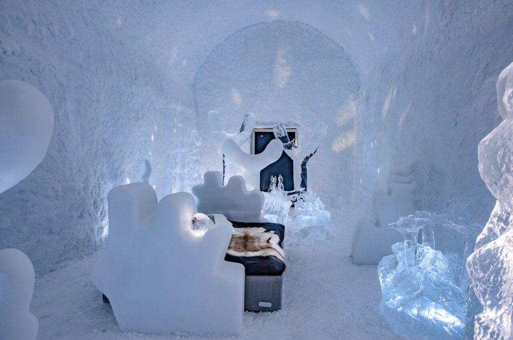 Así Luce Por Dentro El Icehotel De Suecia, Una Experiencia Temporal Y Única De Alojamiento En Forma De Un &Quot;Iglú Gigante&Quot;