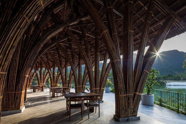restaurante Vedana La mejor experiencia gastronomica de Vietnam esta en el restaurante Vedana situado en el interior del Parque Nacional Cuc Phuong 3