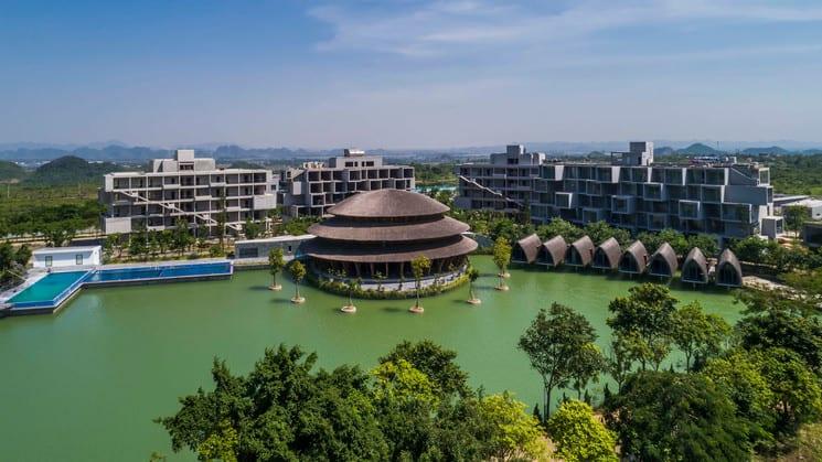 La mejor experiencia gastronómica de Vietnam está en el restaurante Vedana, situado en el interior del Parque Nacional Cuc Phuong