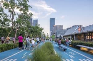 Xuhui Runway Park: un antiguo aeropuerto de Shanghái se convierte en este hermoso parque
