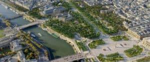 París planea convertir los Campos Elíseos en un 'extraordinario jardín'
