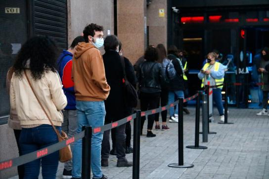 Científicos celebraron un concierto de 5 horas en Barcelona como prueba piloto para recuperar la música en directo de manera segura