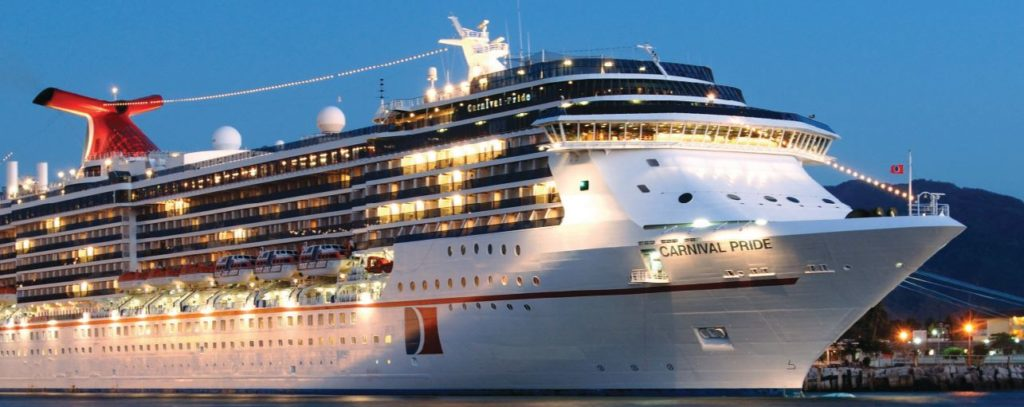 Imagen Cruceros Nudista Carnival Pride