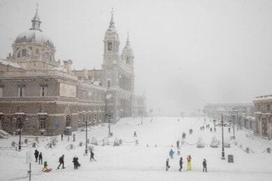 [GALERÍA] Lo que Filomena dejó en las calles de Madrid las mejores fotografías de una ciudad teñida de un histórico temporal de nieve