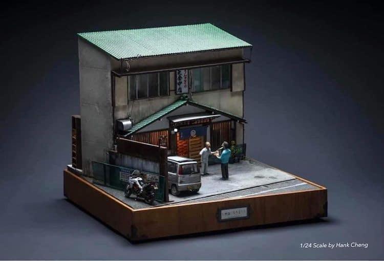 imagen artista taiwanés Este artista taiwanes crea versiones diminutas de lugares reales que ha visitado... %C2%A1y son representaciones adorables 3
