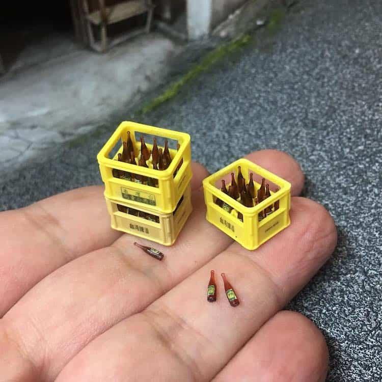 imagen artista taiwanés Este artista taiwanes crea versiones diminutas de lugares reales que ha visitado... %C2%A1y son representaciones adorables 4