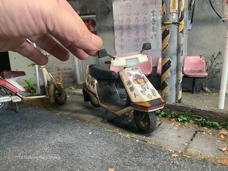 imagen artista taiwanés Este artista taiwanes crea versiones diminutas de lugares reales que ha visitado... %C2%A1y son representaciones adorables 9