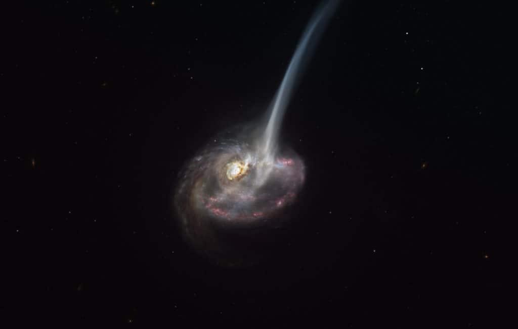 Un grupo de astrónomos pudo ver la muerte de una galaxia por primera vez
