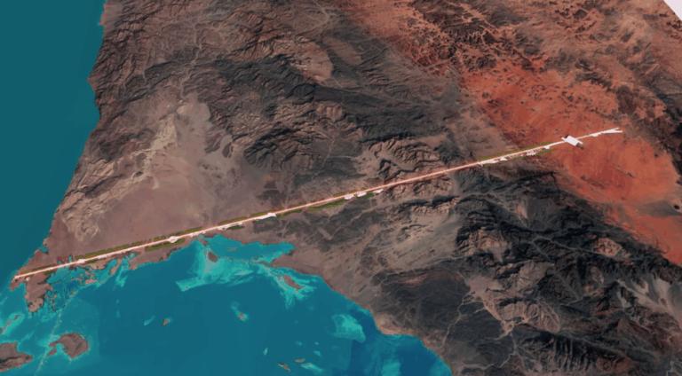 The Line: la nueva ciudad sostenible y libre de automóviles que está planeando Arabia Saudita