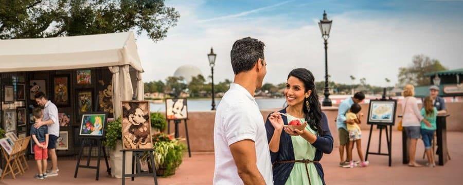 Disney World Dio Inicio A Su Primer Festival Del Año: El Festival Internacional De Las Artes