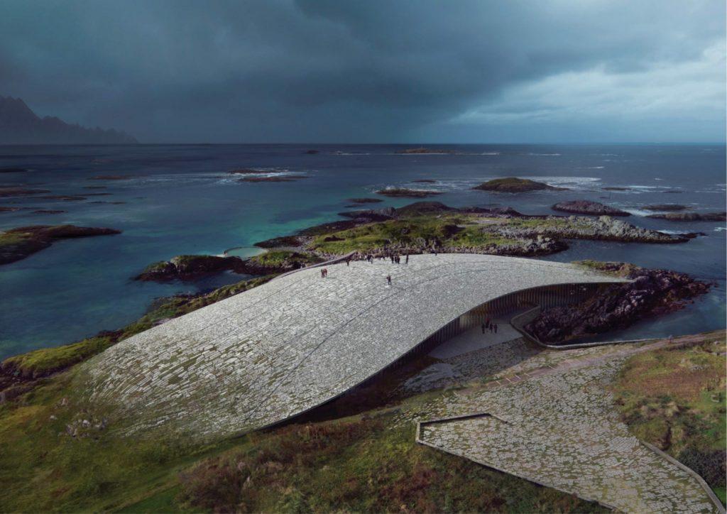 The Wale: Noruega abrirá un nuevo museo para observar las ballenas y tendrá la forma de una de sus aletas