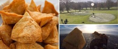 Un restaurante de Inglaterra quiso enviar su comida al espacio y aterrizó en Francia