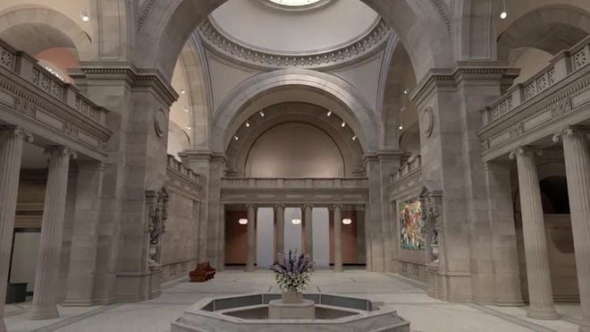 El Museo Metropolitano de Arte de Nueva York diseñó un recorrido virtual e interactivo