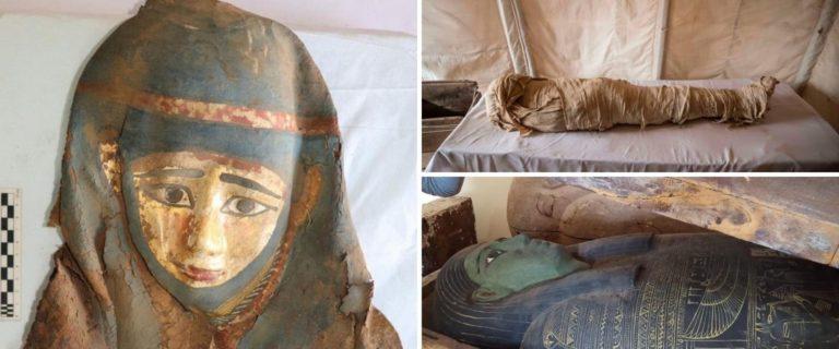 """Egipto anunció que descubrieron tesoros de hace unos 3.000 años que """"reescribirán"""" la historia de Saqqara"""