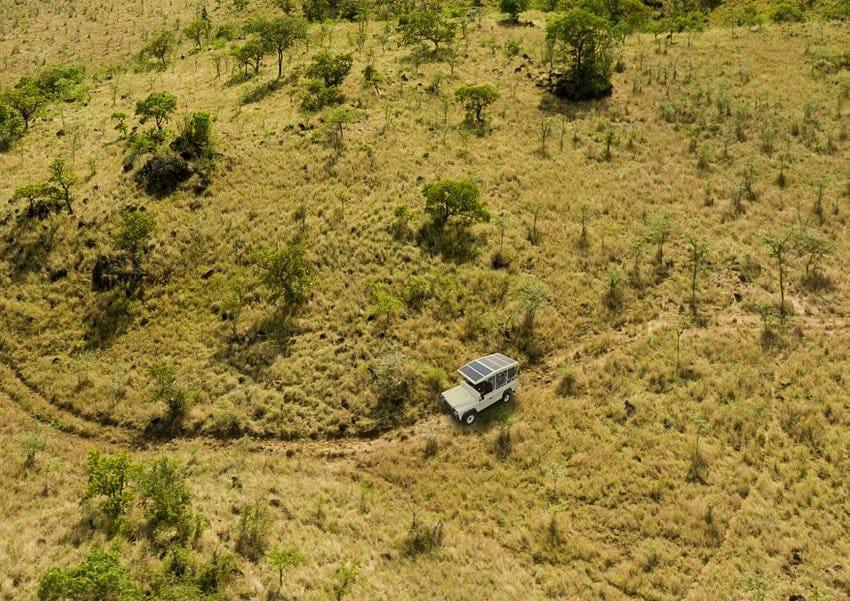 Un safari de Kenia contará con un auto eléctrico para ser más amigable con el ambiente