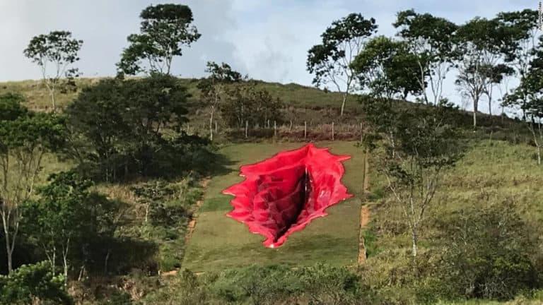 escultura de una vulva