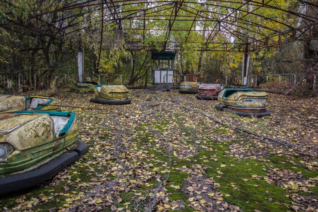 parques de diversiones abandonados