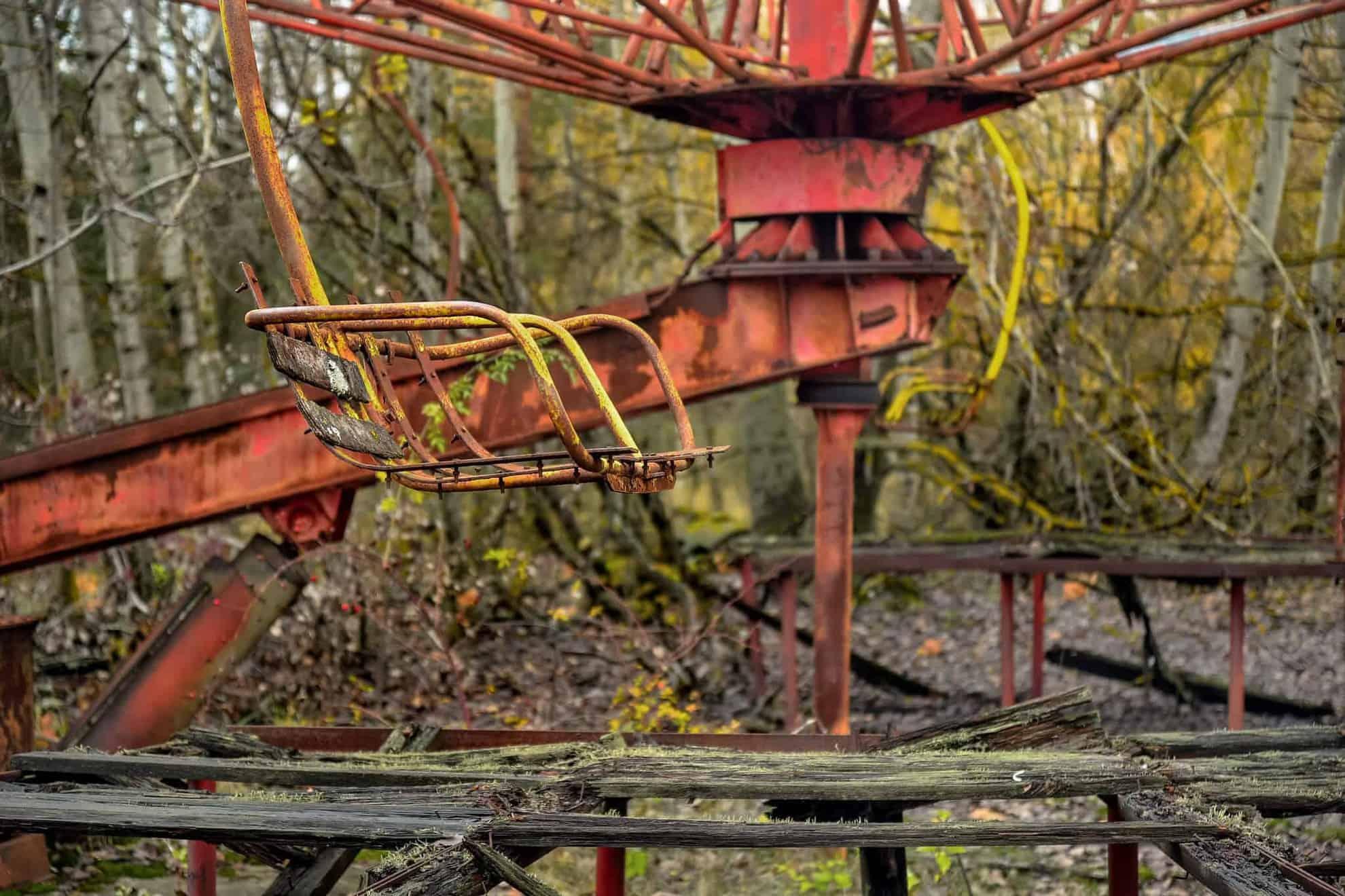 Parques de Diversiones Abandonados y Aterradores