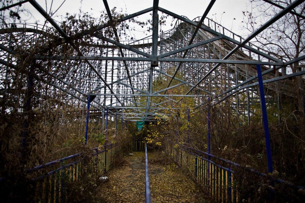 Parques De Diversiones Abandonados: Six Flags, Nueva Orleans, Estados Unidos