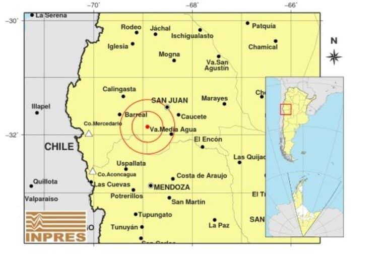 [FOTOS] Registran un terremoto de 6.4 grados en la escala de Richter en San Juan, Argentina