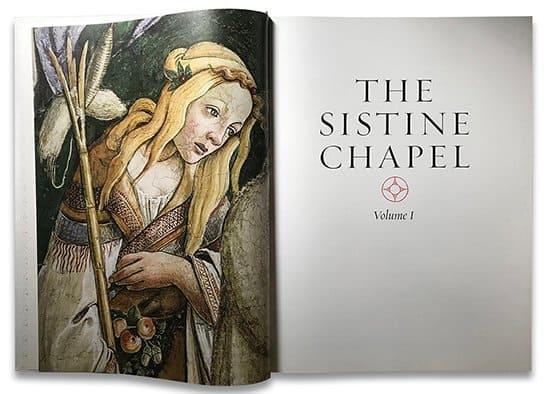 La Capilla Sixtina es protagonista de un excéntrico libro: The Sistine Chapel posee más de 270.000 fotografías y vale unos 22.000 dólares