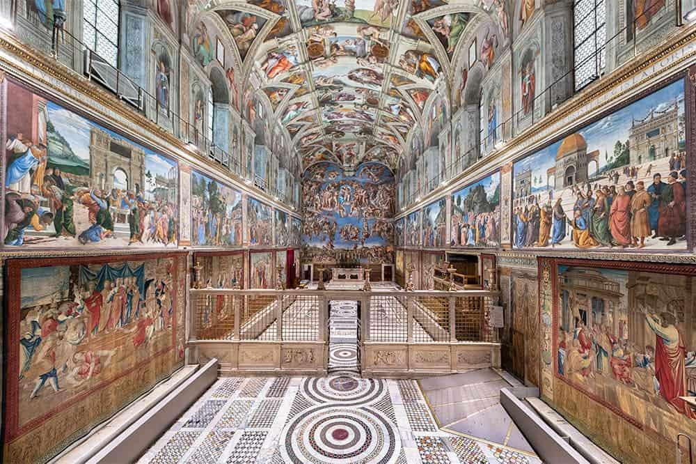 imagen The Sistine Chapel Arazzi Sistina 7