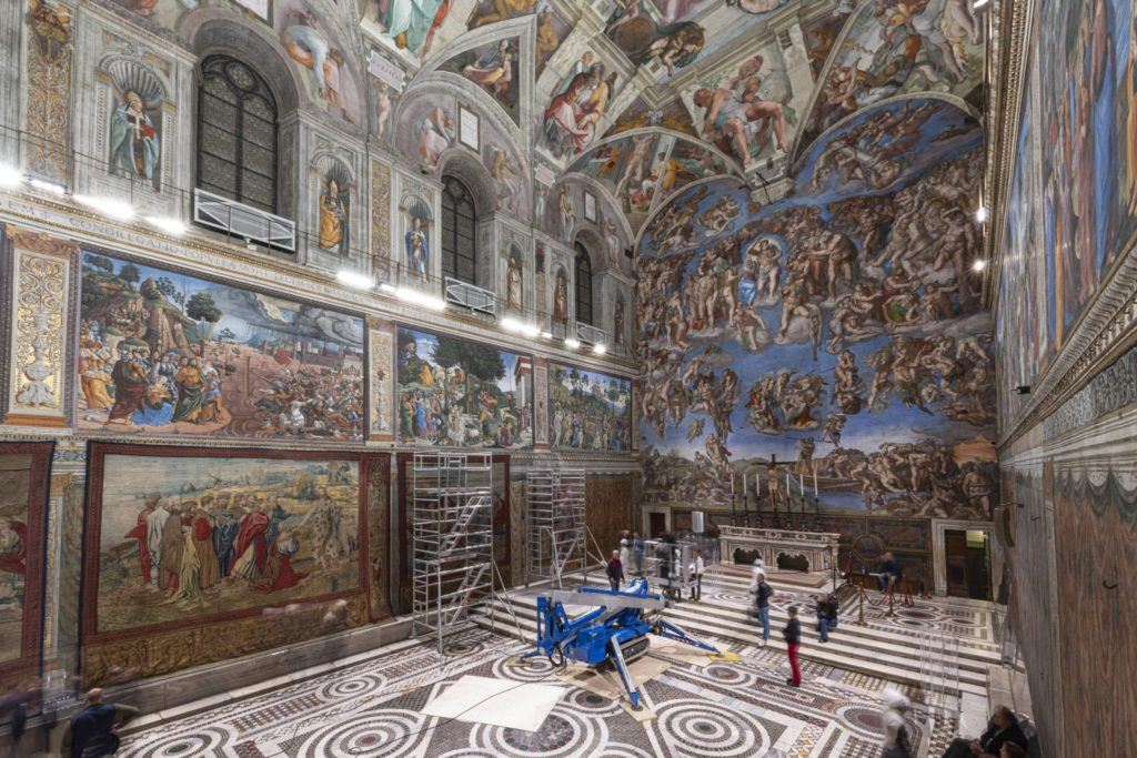 imagen The Sistine Chapel bea8008ad9929aff5f1092f34b9668b3 scaled 1