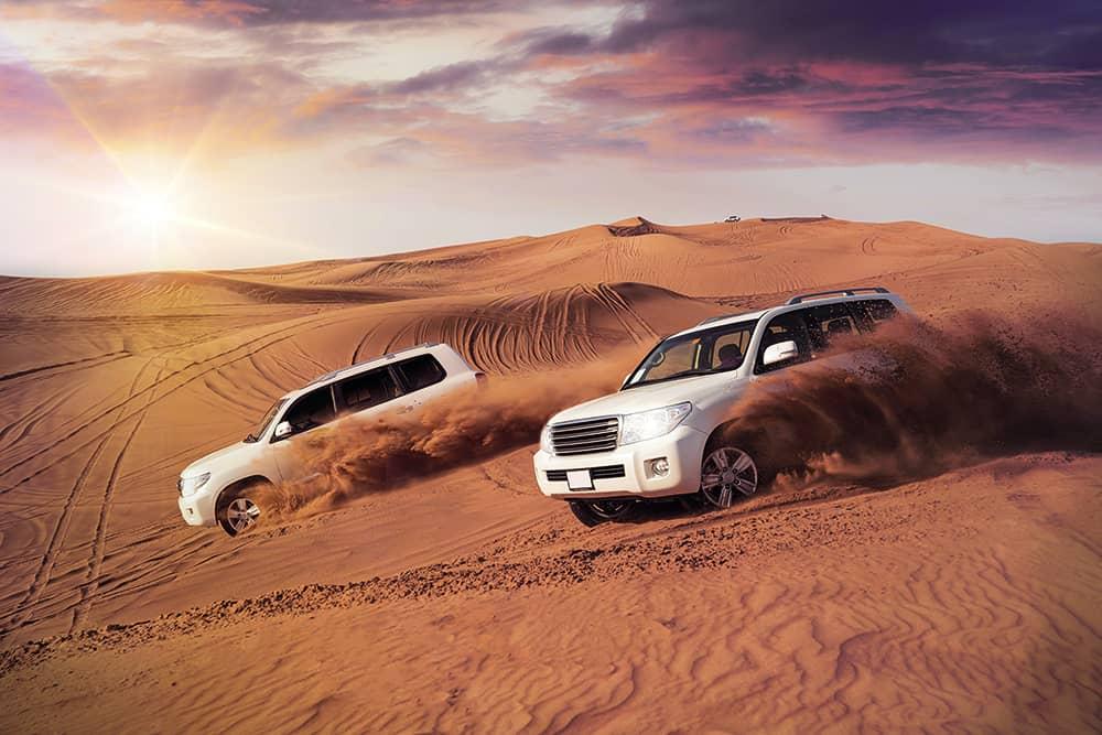 Abu Dhabi diseña seis rutas todoterreno a través de los desiertos en las afueras de la ciudad para que visitantes puedan explorar sus dunas
