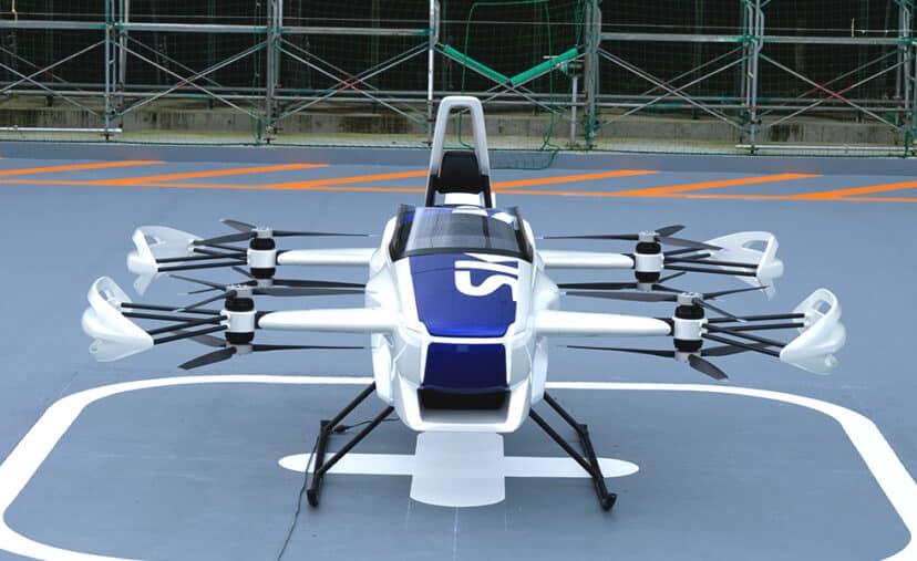 Los autos voladores serán una realidad en Japón para 2023