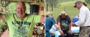 Australia: un hombre se perdió en el matorral, estuvo allí por 18 días y sobrevivió comiendo hongos silvestres