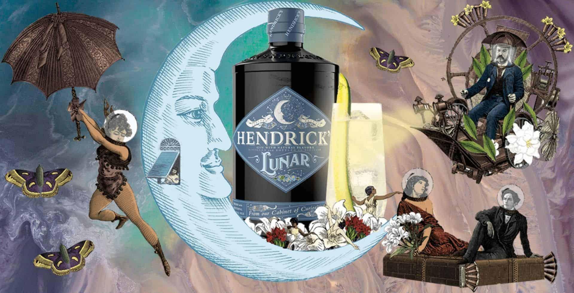 La marca de ginebra Hendrick's está lanzando una edición limitada llamada Lunar Gin, una bebida para celebrar la primera luna llena de 2021