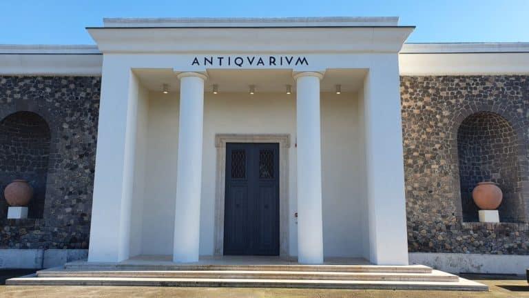 Anticuarium, el museo de Pompeya, vuelve a abrir sus puertas al público con una muestra permanente