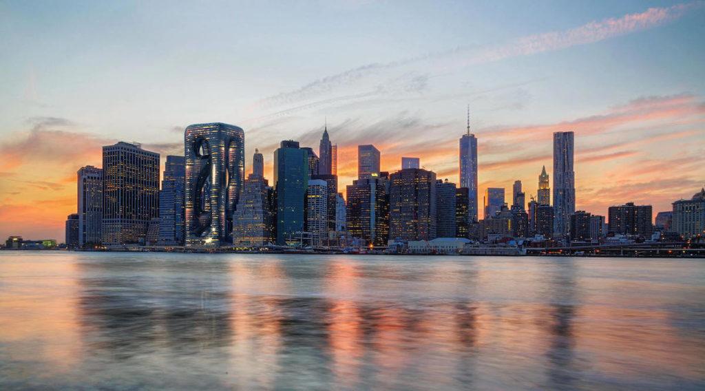 imagen Sarcostyle Tower Arquitectos proponen la construccion del Sarcostyle Tower una torre inspirada en las fibras musculares para destacar en el paisaje de Nueva York 3